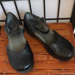 Dansko Black Mary Janes Size 39